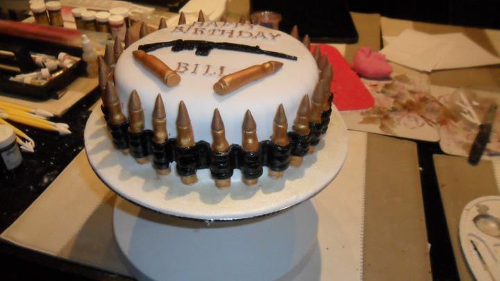 Bullet Belt Cake Danielle Bale Flickr