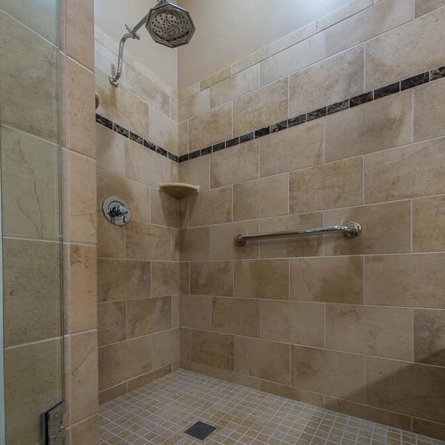Emperador Floor Bathroom
