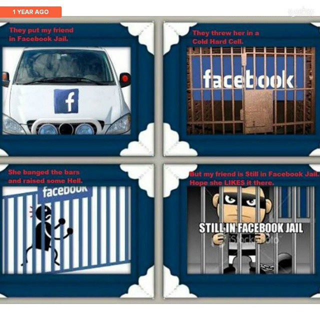 Jail Back Facebook Meme