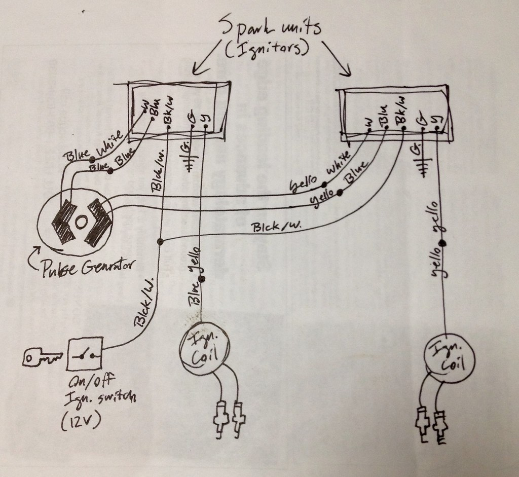 Wiring Diagram 1983 Yamaha It Relay Mga 1600