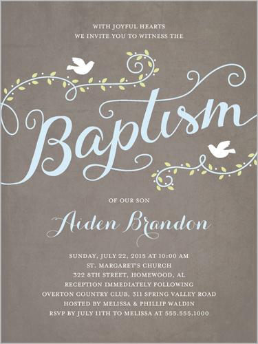 Baptism Invitations Lds Wording