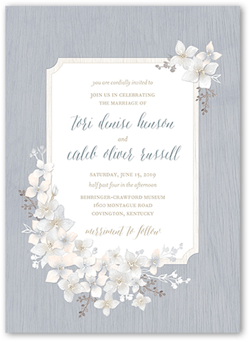 Invitation Wedding Rustic