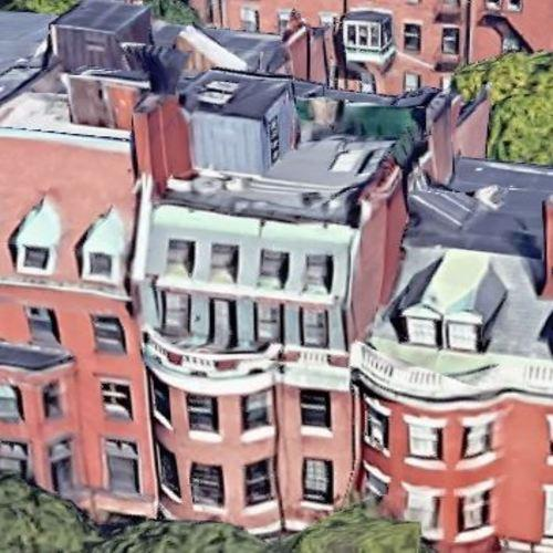 Julian Edelman S House In Boston Ma Google Maps 2