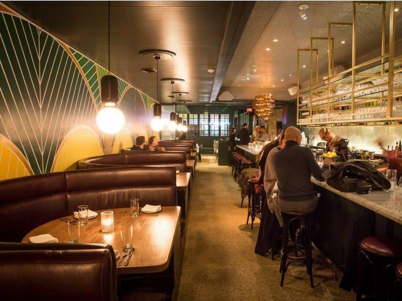 French Restaurant Interior Design