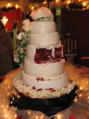 Red Velvet Wedding Cake Kimberly Vardeman Flickr