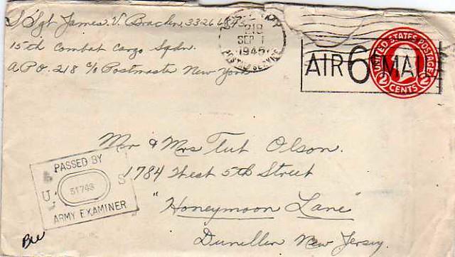 Vintage envelope i have several letters old, old english letter b