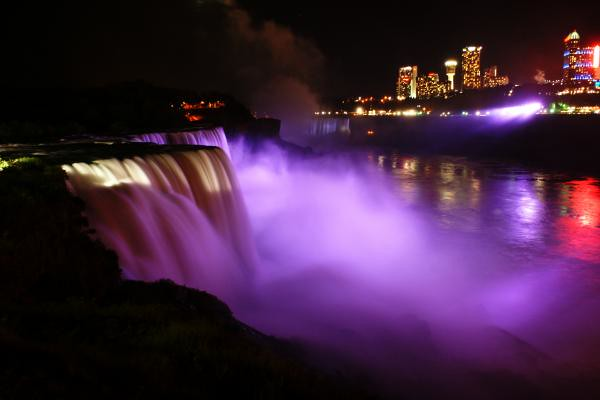 Purple Waterfall This Beautiful Waterfall Encapsulates