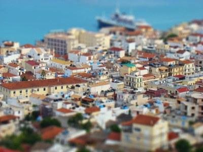 Zante Town - Fake Miniature | Regular photo made to look ...