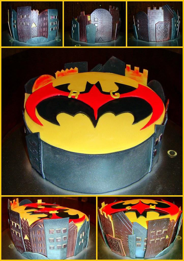 Batman And Robin This Is My First Ever Madhatter Cake