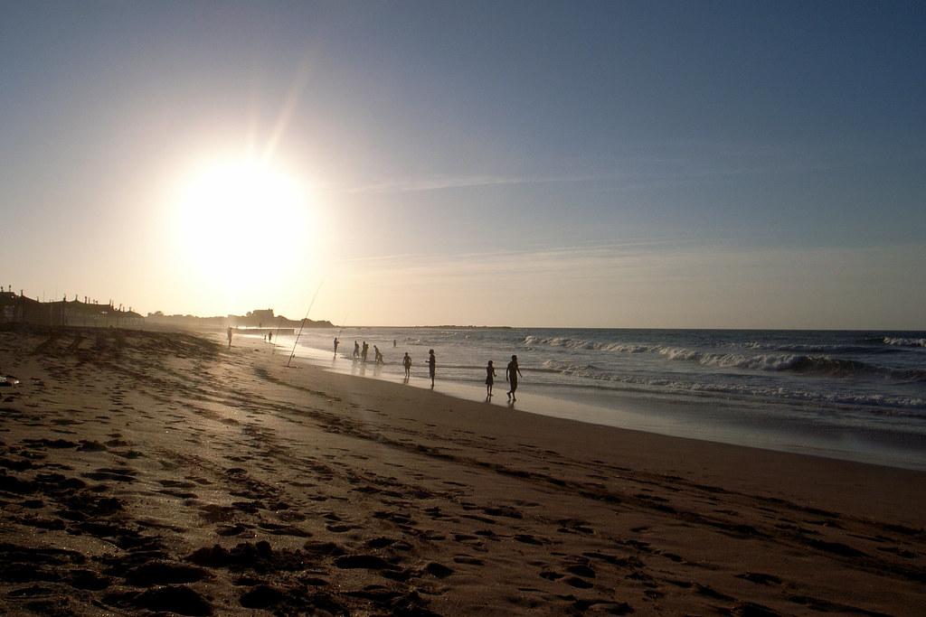 Sunset At Dar Bouazza Beach Near Casablanca Morocco Flickr