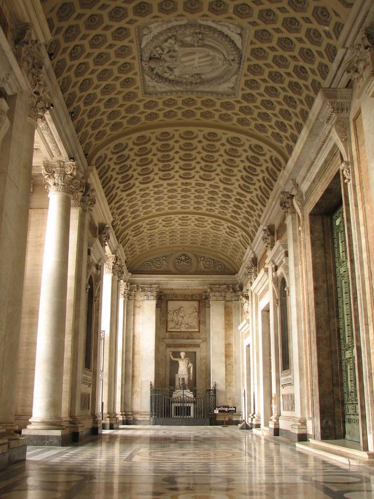 Lateran Basilica Narthex The Narthex Or Porch Of St