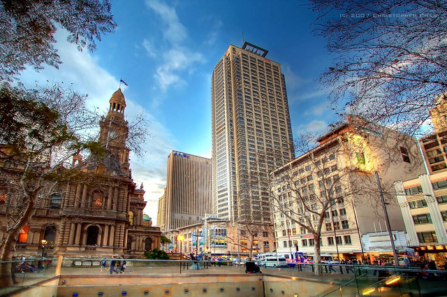 Map Sydney Street