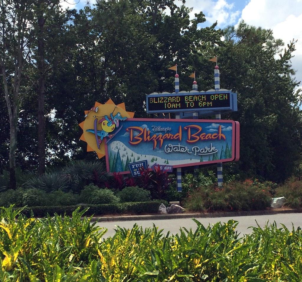 New Blizzard Beach Disney Water Park Map