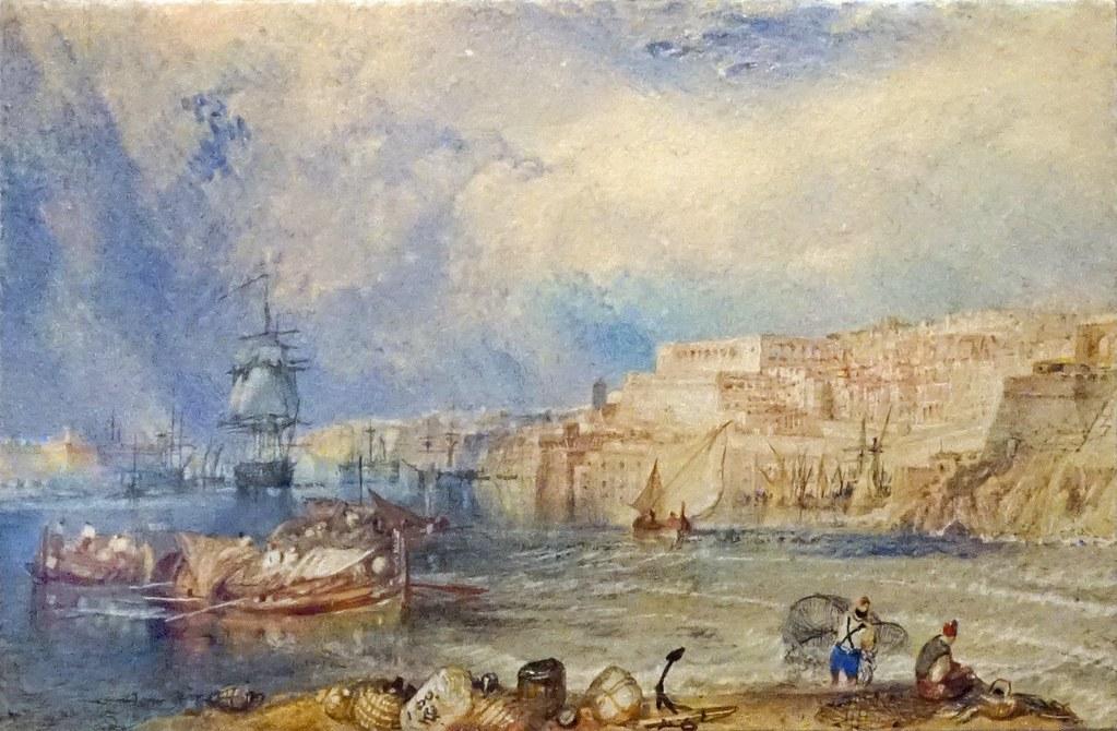 Malte Par J M W Turner Mus 233 E Des Beaux Arts La Valett