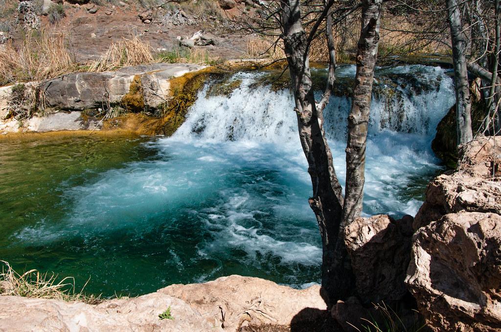 Waterfall Trail At Fossil Creek Fossil Creek Seems To