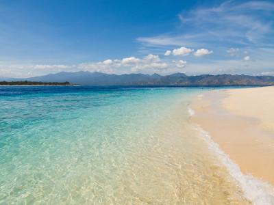 Gili Island beach scene | Gili Island beach scene - Gili ...