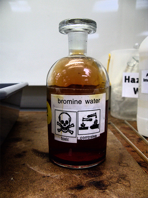 Bromine Water Bromine Water Is A Solution Of Bromine And