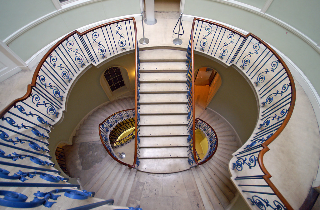 The Nelson Stair Somerset House London View On Black