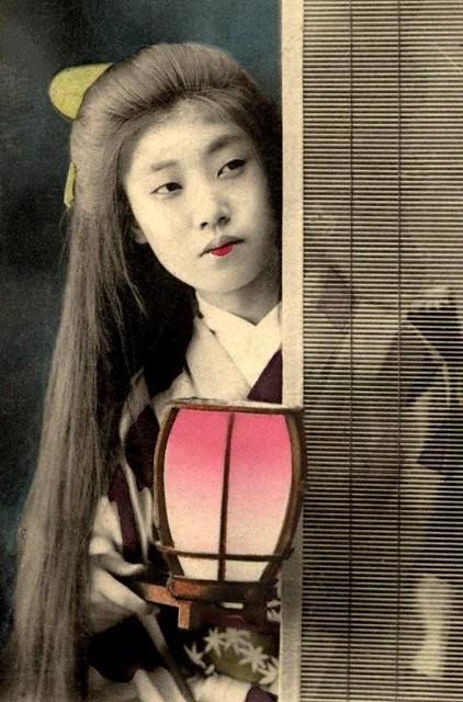 Geisha Hair Let Down
