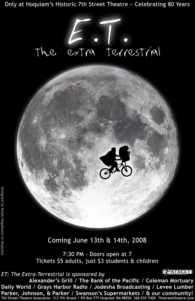 Poster Candidate For Et The Extra Terrestrial Movie Flickr