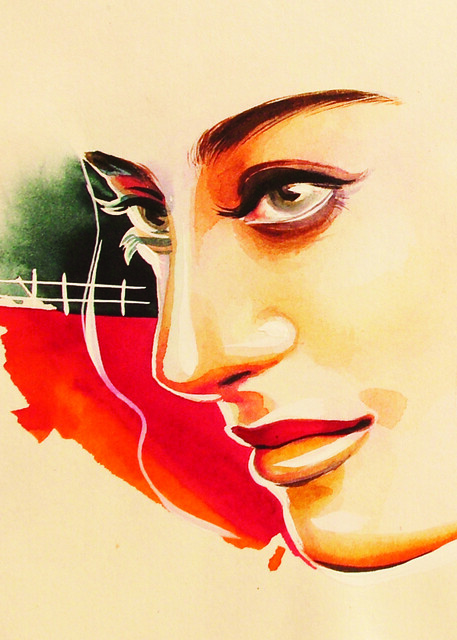 Punjabi Indian Art Painting Beauty For More Paintings