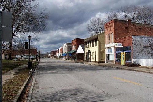 Main Street Beautiful Downtown Golconda Illinois Flickr