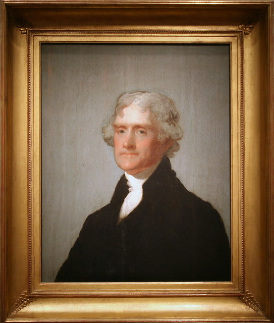 Thomas Jefferson The Edgehill Portrait Third President Flickr
