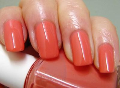essie - cantalope | Tangerine Nail | Flickr
