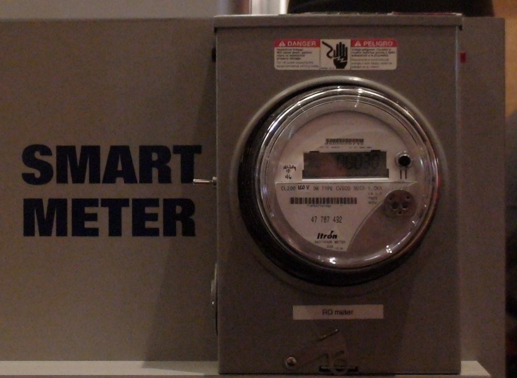 Smart Meter I Took This Shot Of A Smart Meter At The Sap