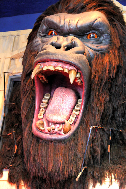 King Kong S Head At The Hollywood Wax Museum I Would Hate Flickr