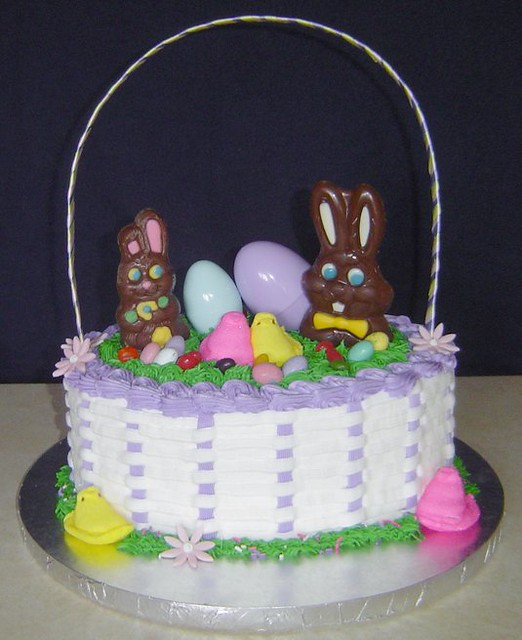 Easter Basket Cake