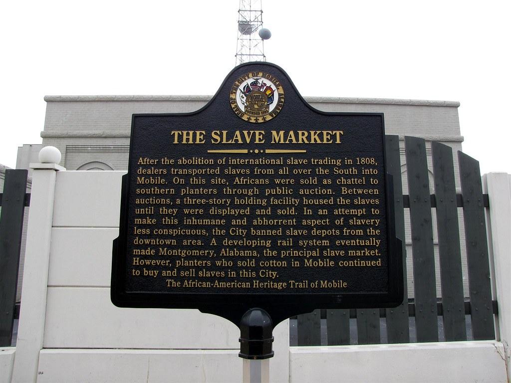 Old Slave Market Site Mobile Alabama Al Robert