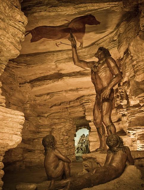 Diorama De La Cova D Altamira Foto Dg Patrimoni