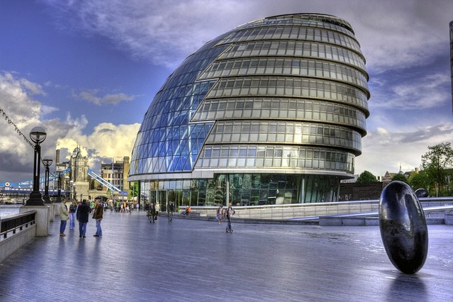 London City Hall Designed By Sir Norman Foster London
