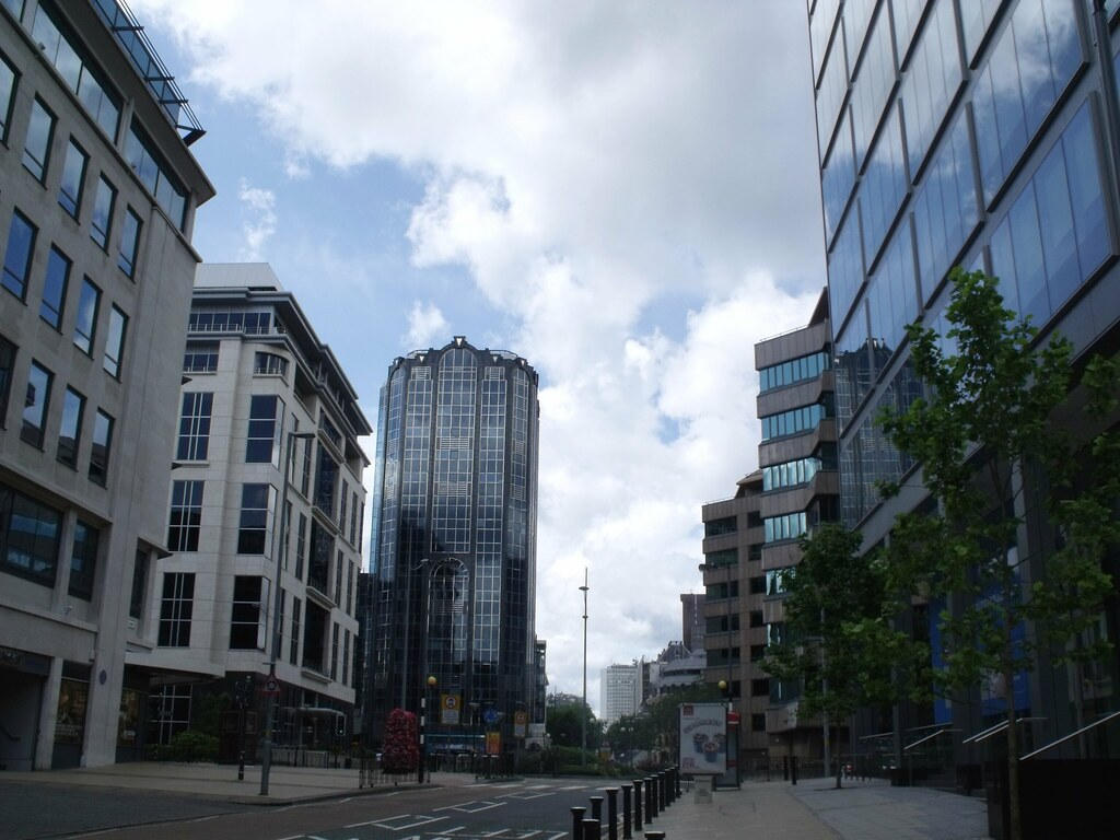 Buildings In Colmore Square Building To The South Of