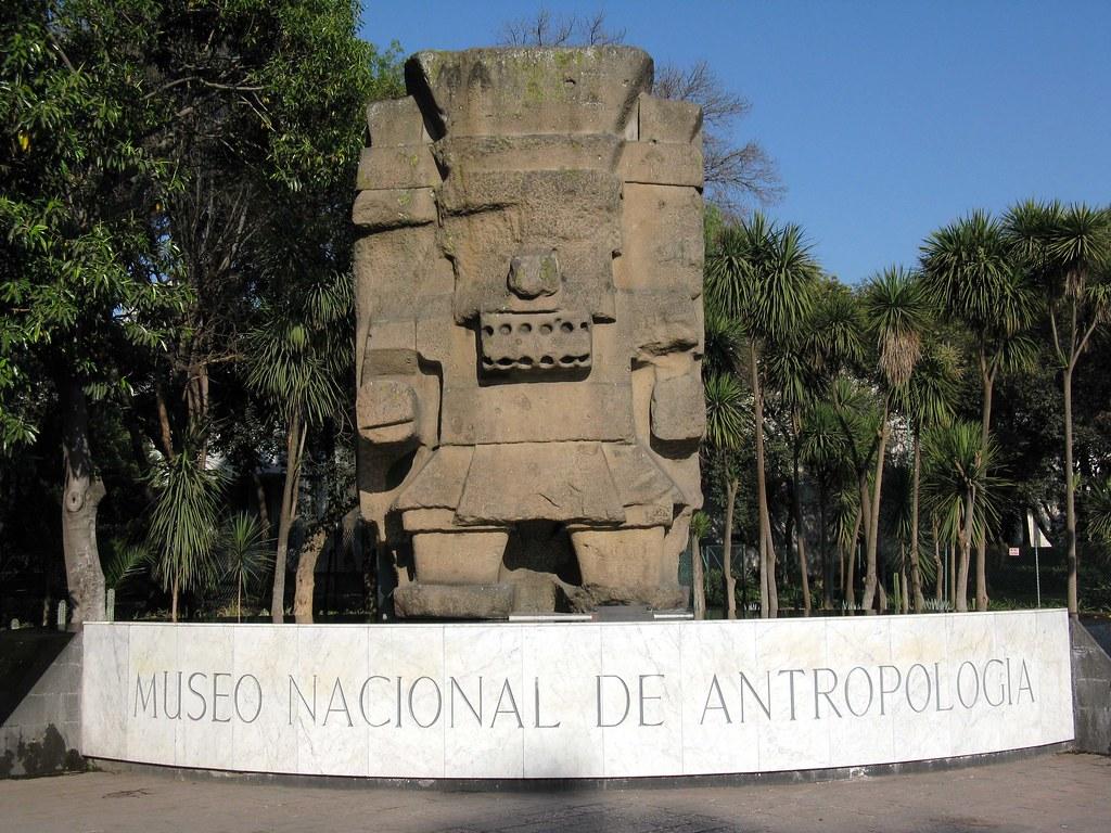Museo Nacional De Antropologia This Is The Garden