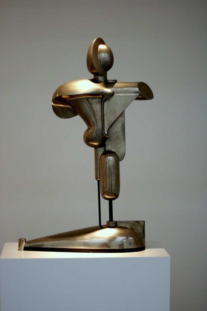 Oskar Schlemmer Abstract Figure 1921 Roger Flickr