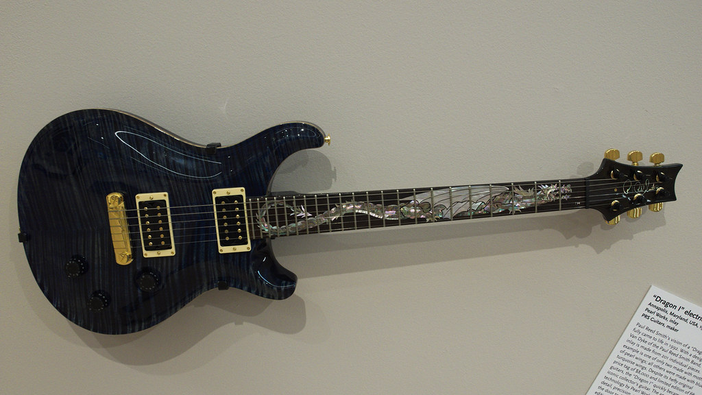 Prs Quot Dragon I Quot Electric Guitar 1992 Pearl Works Inlay