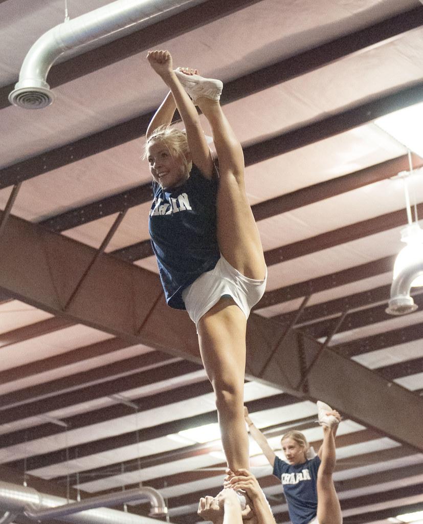 Cheer Practice Acx 113 Fredhandbag Flickr