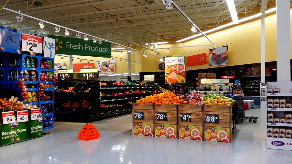 Walmart Lighting Department