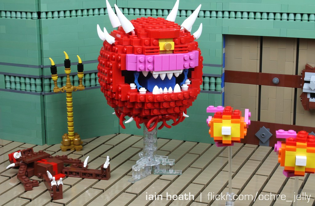 Lego Doom Cacodemon Says Quot I Am Not A Beholder Quot Before