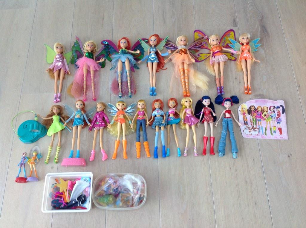 Winx Club Dolls New 2014