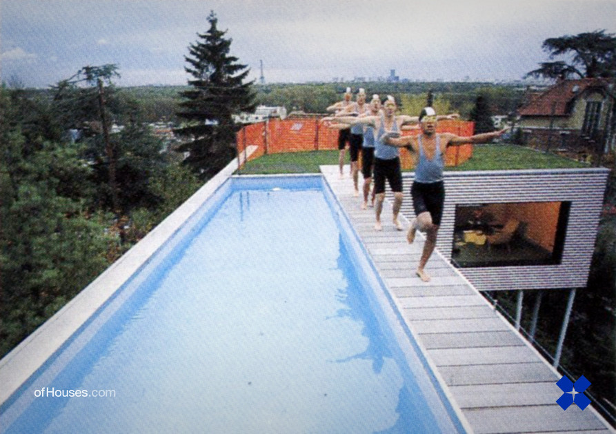 Oma Villa Dall Ava Paris France 1985 1991
