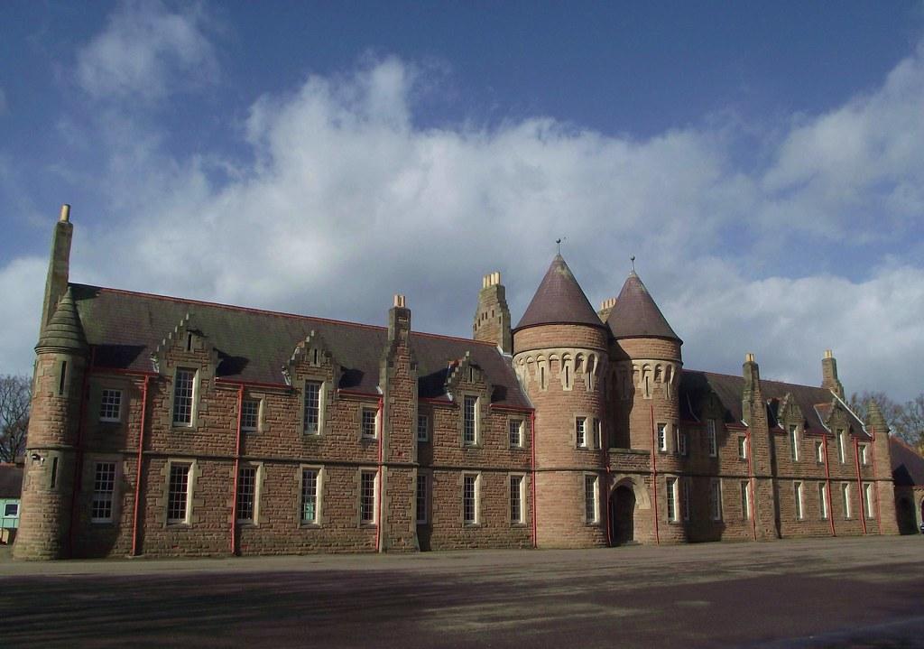 Cameron Barracks Inverness Scotland One Of The