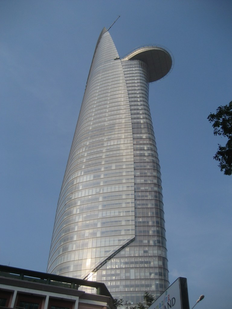 Tallest Building In Vietnam The Bitexco Financial Tower