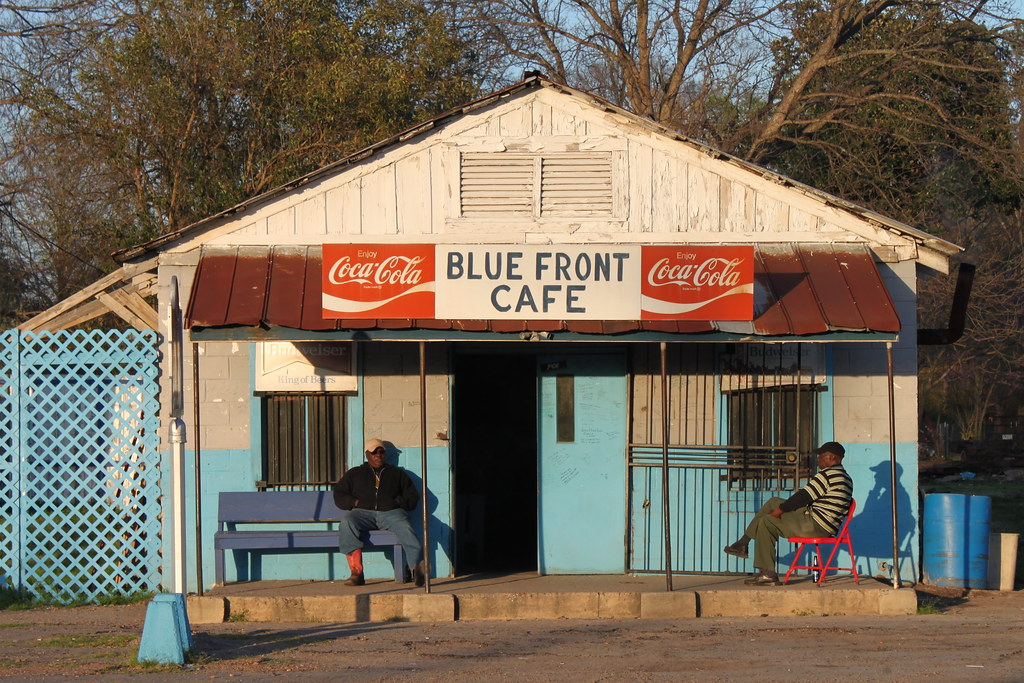 Blue Front Cafe The Blue Front Cafe Is One Of The Last