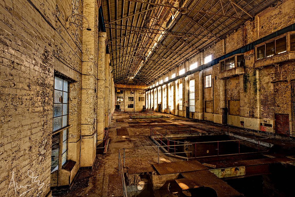 White Bay Power Station Turbine Hall Joined In At The