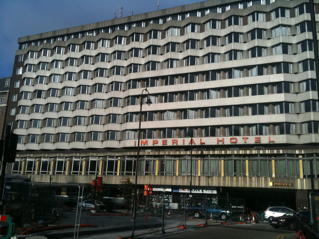 Ugly Hotel Walked To And From My Meeting Today Instead