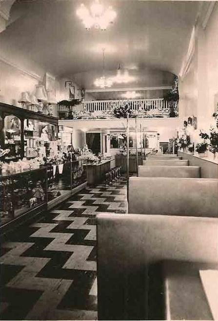 Edie S Coffee Shop Interior Warren Ohio Circa 1950s Flickr