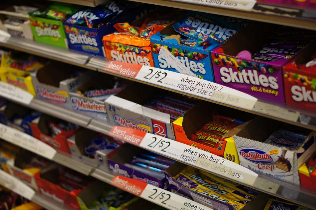 The Candy Aisle At 7 11 Heather Anne Campbell Flickr